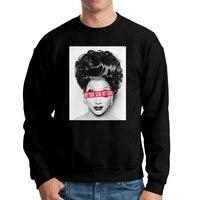 RuPaul Not Today Satan Not Today RuPaul's Drag Race Man Sweatshirt Printed 100% Cotton Crewneck Pullover Gift Hoodies Clothing