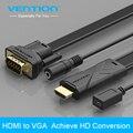 Конвенция HDMI к VGA 1080 P Адаптер Цифровой до 3.5 мм Аудио Конвертер с Блоком Питания Для Xbox360 PS3 Ноутбук TV box для Проектора