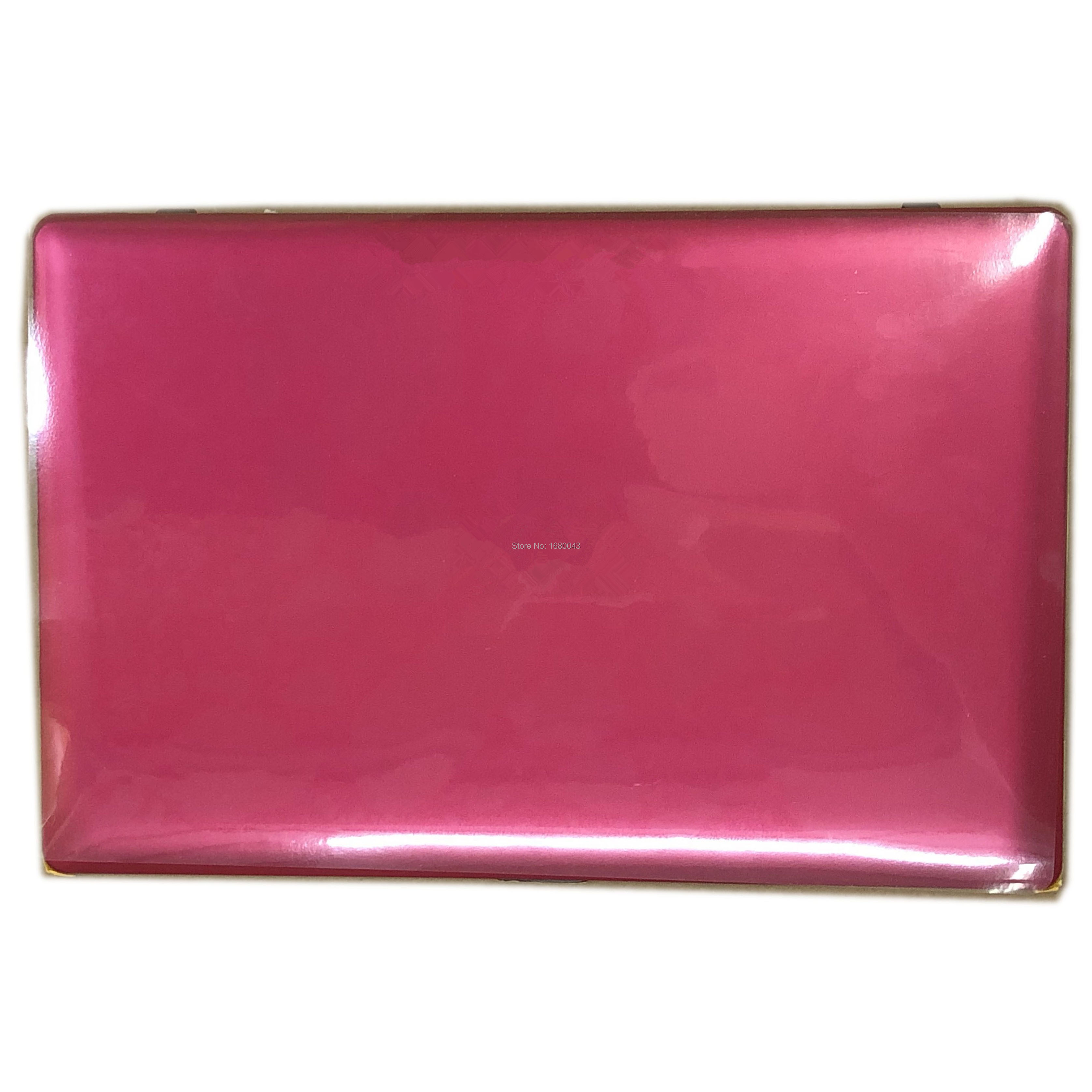 LCD écran LED écran tactile numériseur assemblée verre Rose rouge boîtier avec cadre pièces de rechange pour Asus Vivobook X200CA X200MA