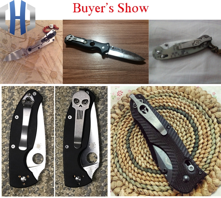 6Buyer's show of knife clip