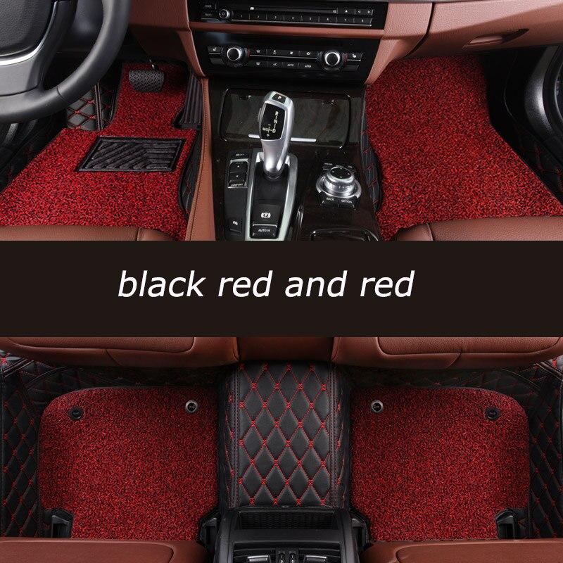 Kalaisike Personnalisé tapis de sol de voiture Pour Mercedes Benz tous les modèles E C ML GLK GLA GLE GL CLA CLS S R Un B CLK SLK G GLS GLC vito viano