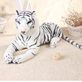 simulation animal large 75cm white tiger plush toy birthday gift b4978