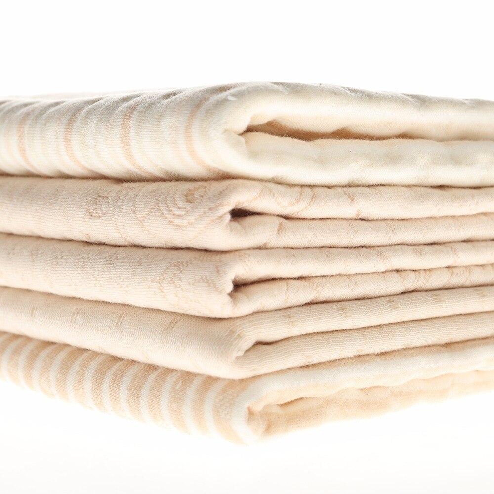 Новорожденных матрас детские непромокаемые пеленки колодки менструального кормящих коврики вода абсорбент одеяло Нрганические цвет 100% хлопок —делано