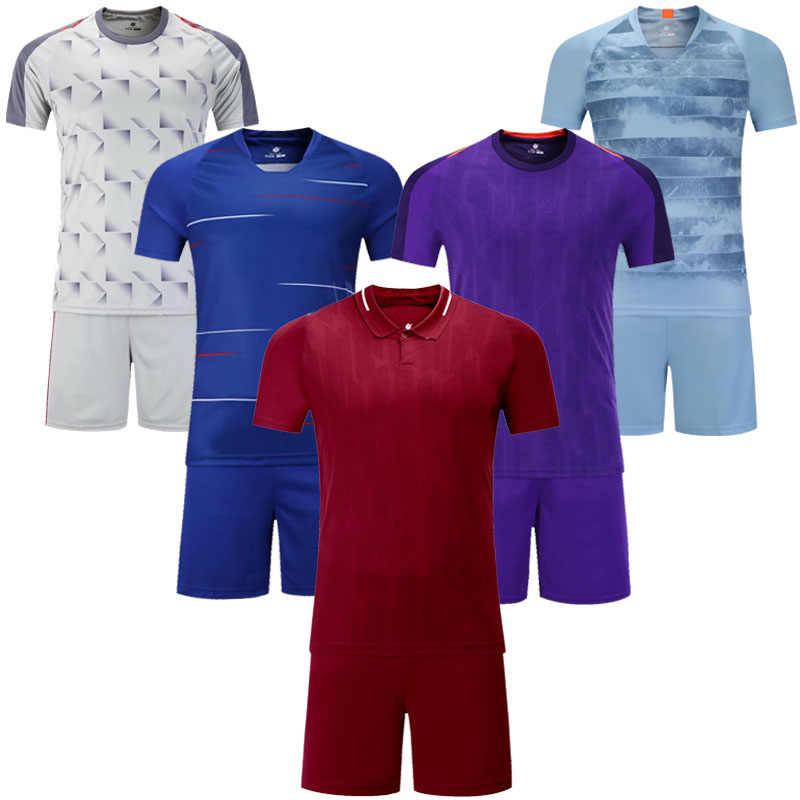 sports shoes f9c47 372d0 Kids blank short sleeve soccer jersey youth football jersey boys plain 5  colors soccer uniforms Futbol kits customize any logo