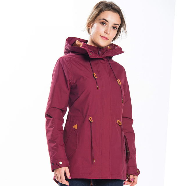 ZYNNEVA Autumn Winter Coat Women 3 in 1 Mountain Camping Hiking Suit Ski Windproof Jackets Thermal Waterproof Clothing GK1209 2