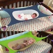 Переносная складная детская кроватка для новорожденных, гамак для малышей, съемная детская кровать для фотосъемки, эластичная корзина для путешествий