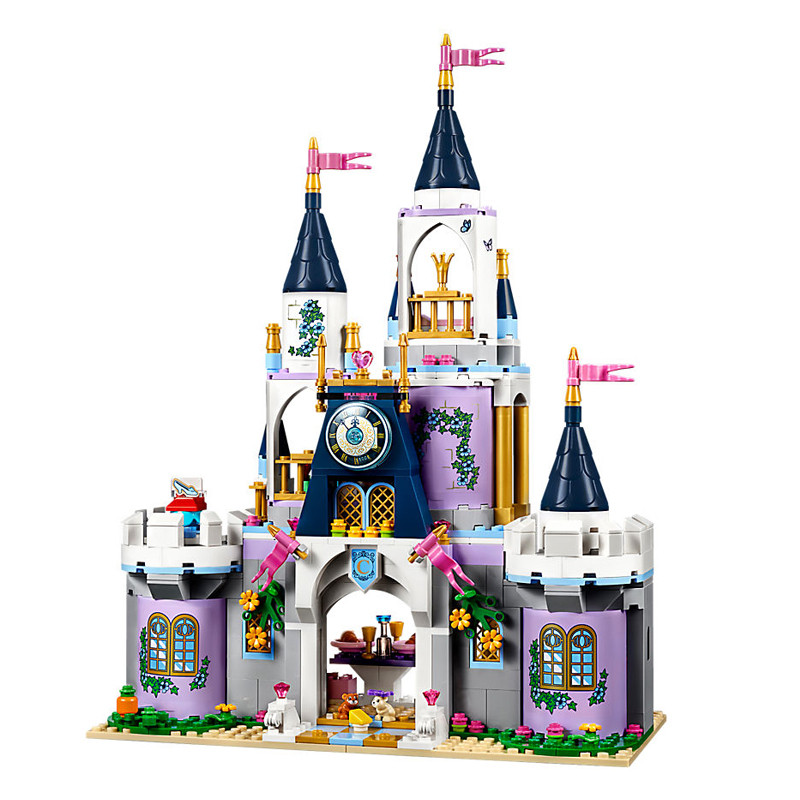 LEPIN Friends Princess Cinderella's Dream Castle Building Blocks Bricks Kids Classic Girl Model Toys Compatible Legoe diy 117pcs princess dream castle park larger particles building blocks toy kids girl best gift compatible with legoed duploe