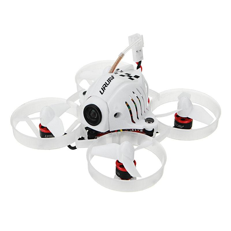 URUAV UR65 65mm FPV Da Corsa Drone BNF Crazybee F3 Controllore di Volo OSD 5A Blheli_S ESC 5.8g 25 mw VTX RC Modelli VS Eachine E10S