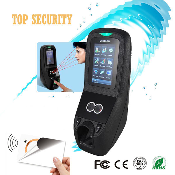 Face Fingerprint IC card time attendance and door access control system TCP IP and USB communication