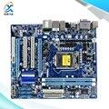 Para gigabyte ga-h55m-d2h original usado h55m-d2h desktop motherboard para intel H55 LGA 1156 Para i3 i5 i7 DDR3 8G SATA2-Micro ATX