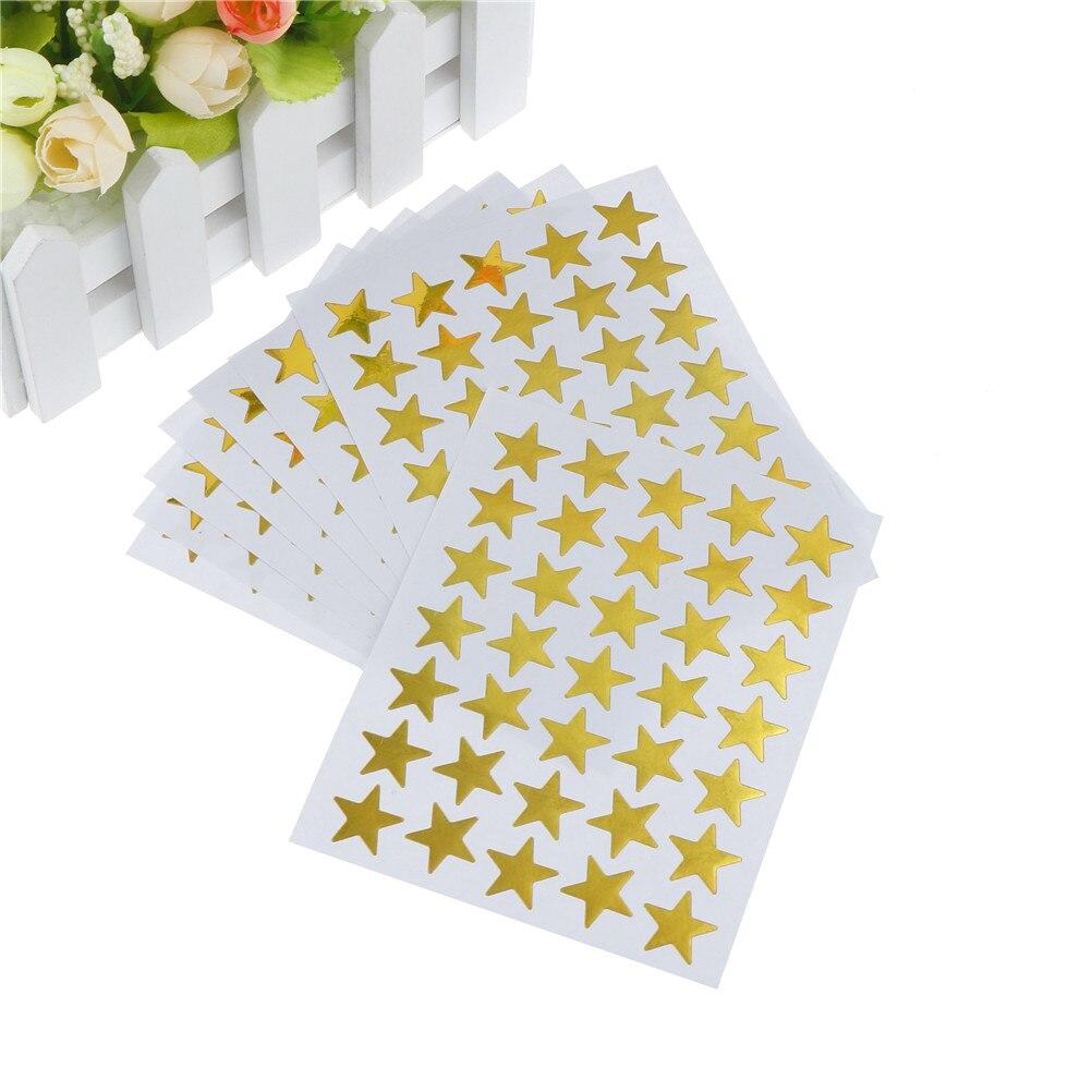 United Lovely Star Sticker Teacher Label Reward For Children Kid Students Gift School Supplies 10pcs/pack Office & School Supplies