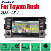 ZaiXi Android 2 Din Auto Radio DVD For Toyota Rush 2006~2017 Car Multimedia Player GPS Navigation System Radio Stereo ownice c500 g10 android 8 1 car dvd for toyota c hr chr c hr 2016 2017 car radio multimedia player gps navigation system head