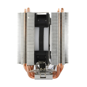 Image 3 - ALSEYE Dual tower CPU cooler 4 heat pipes 4pin 90mm RGB fan for computer processor cooling fan cooler for Intel and AMD