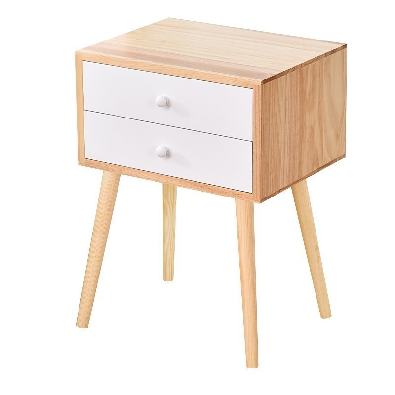 Korean Table Chevet Meuble Chambre European Vintage Wooden Mueble De Dormitorio Quarto Cabinet Bedroom Furniture Nightstand Home Furniture