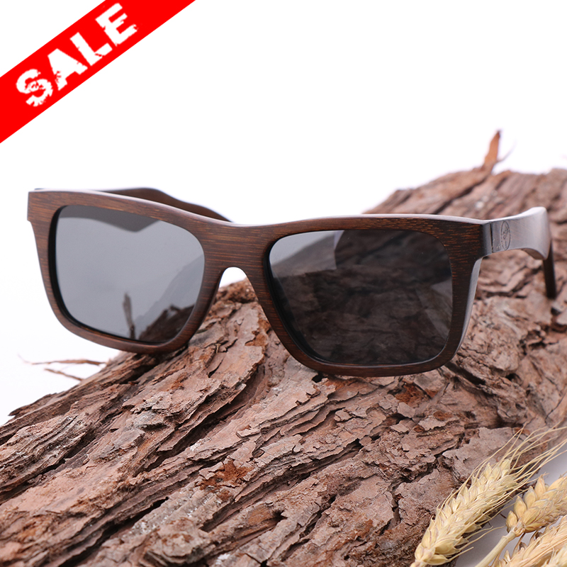 1f4cc1fe6a AN SWALLOW Promotional items Bamboo Sunglasses with Polarized lenses-Handmade  Wood Shades for Men Women