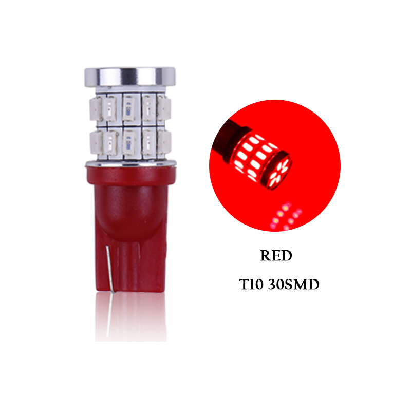 T10 30SMD Red