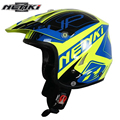 NENKI Motocross Off-Road Cross-Country Open Face Helmet Men Women Climb Motorcycle ATV Dirt Bike MX Racing Helmet DOT Approved