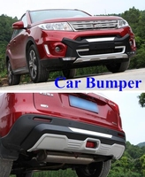 Higher star ABS car Front Rear bumper,fenderguard,protection cover for Suzuki Vitara 2016 2017