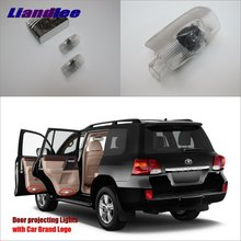 Liandlee Car LED Courtesy Welcome Lights For Toyota Highlander 2009~2015 Projector Light Of Lamp Vehicle Door