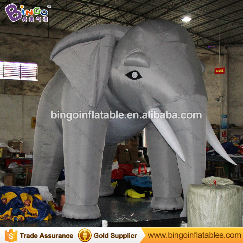 5.3x3.5m Inflatable gray Elephant balloon decoration for events-inflatable toy ao231 christmas decoration inflatable snowman helium parade balloon with blower sky helium balloon for advertising events
