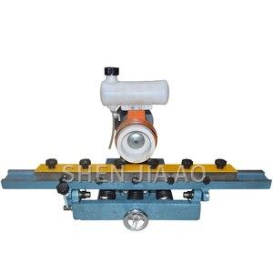 220 В 0,56 кВт 1 шт. скамейка прямой кромкошлифовальный станок MF206 прямое лезвие для обработки древесины станок для заточки ножей