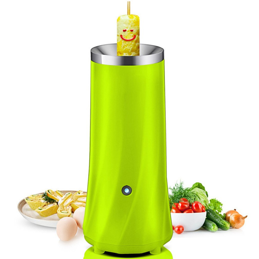Multifunctional Automatic Electric Egg Cooker Practical Design Household Automatic Egg Roll Maker Eggs Pancake Roll Machine tonze electric mini multi egg boilers of 5 eggs 350w automatic power off household breakfast machine cute steam cooker