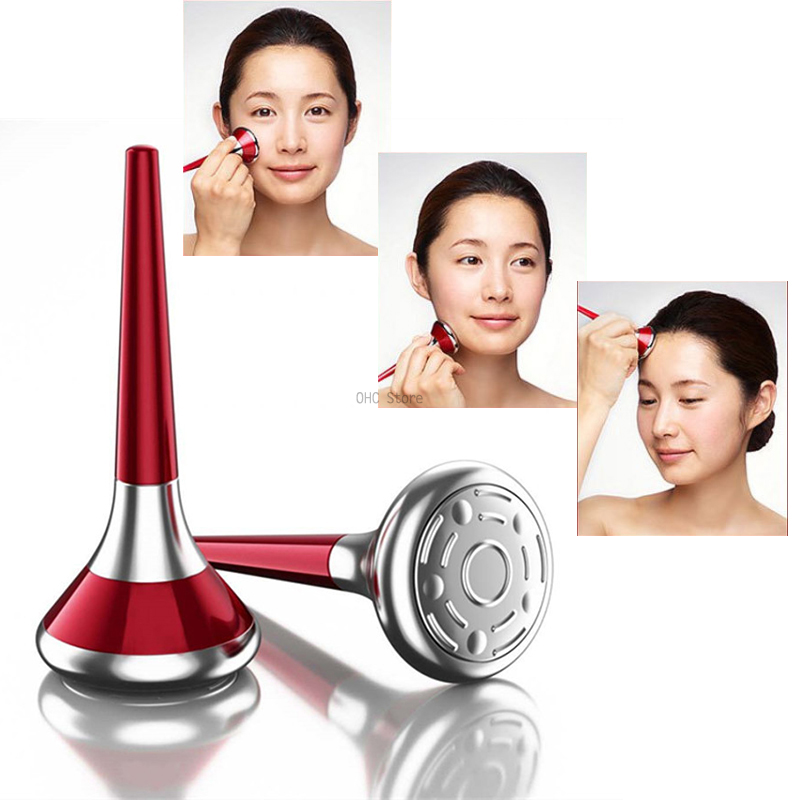 Face Galvanic Spa Ion Portable Deep Ultrasonic Facial Massager Professional Facial Ion Beauty Instrument  Facial Care Tools