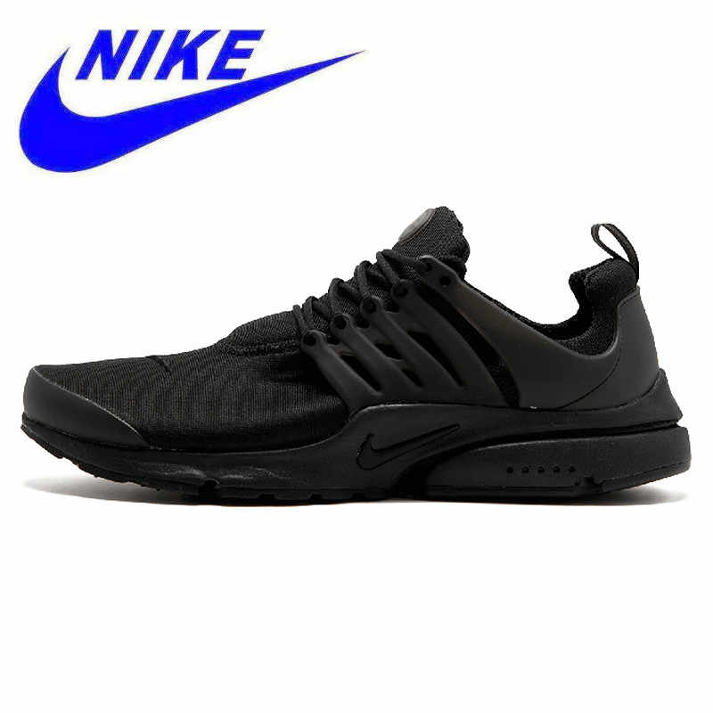cheaper 90e17 8cf20 Nike Air Presto Blackout Black Knight Retro Men s Running Shoes Original  Sport Sneakers 305919-009