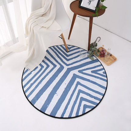 Style moderne tapis rond ordinateur chaise chambre salon platelage tapis