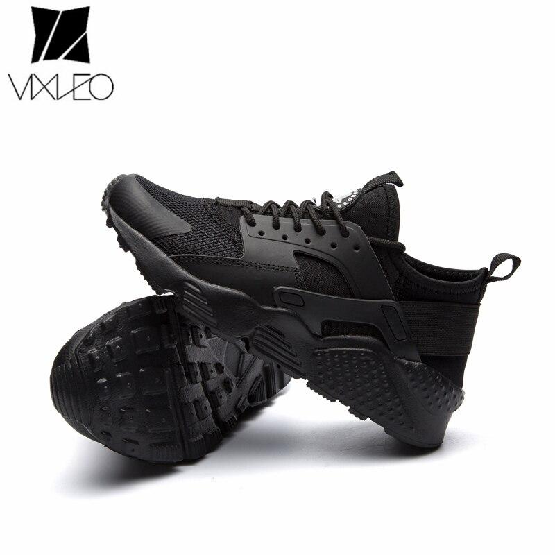VIXLEO Бесплатная доставка 2018 новое поступление кроссовки Для мужчин Для женщин белый  ...