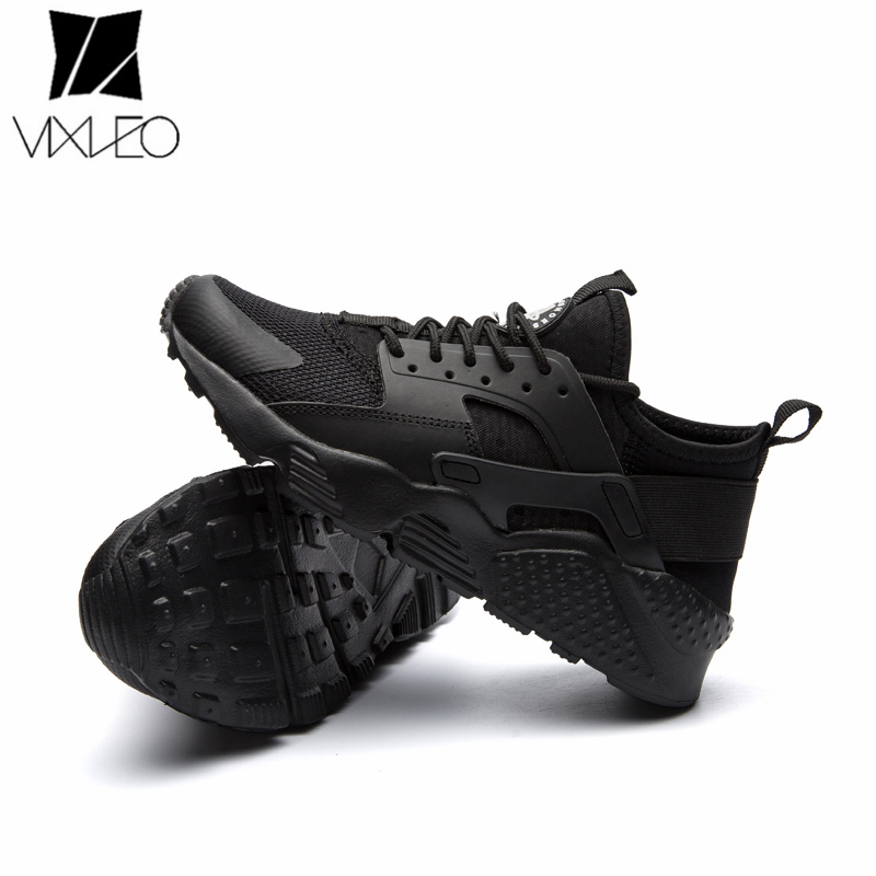 VIXLEO Free Shipping 2019 New Arrival sneakers White Red Black Unisex running shoes For Sale air  Huaraching mesh Size 36-47