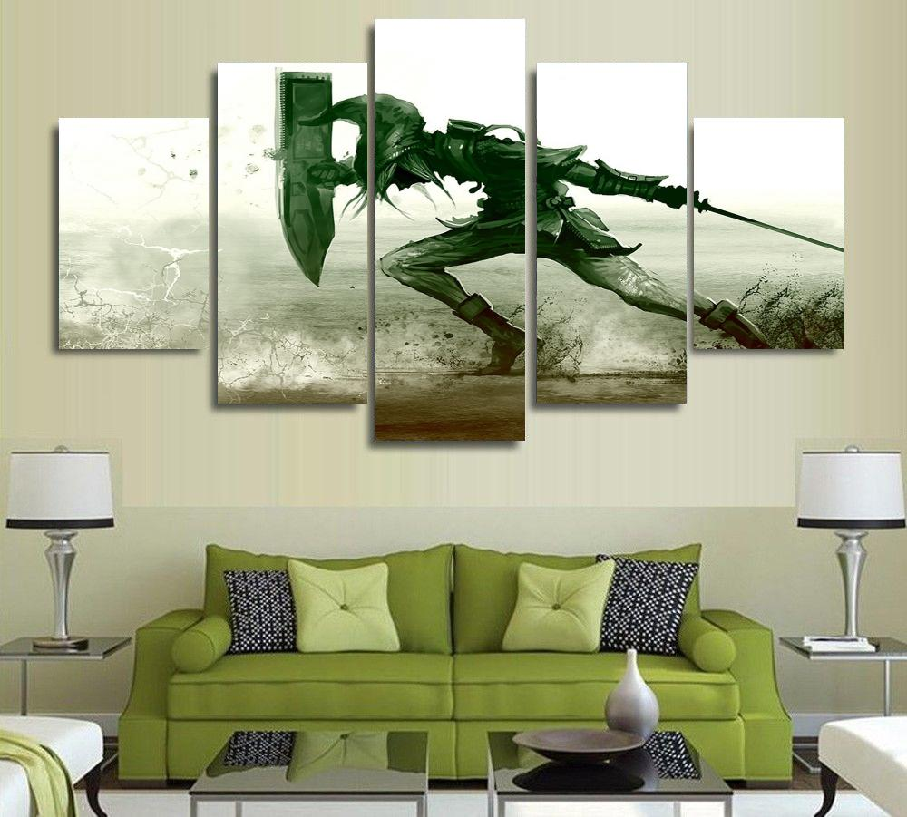 5 Piece The Legend Of Zelda Poster Canvas Wall Art Home Decoration In  Painting U0026 Calligraphy From Home U0026 Garden On Aliexpress.com | Alibaba Group