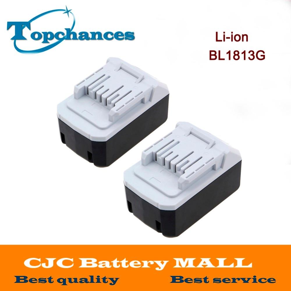 2PCS High Quality 18V 4.0Ah Li-ion Battery For Makita BL1813G DF457D HP457D JV183D TD127D UR180D UH522D CL183D Power Tool laptop battery for asus x552 x552cl x552e x552ea x552ep x552l x552ld x552vl x552la 15v 2950mah 44wh li ion oem
