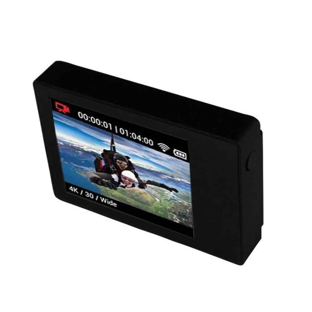 ل GoPro BacPac جهاز مراقبة بشاشة إل سي دي ل Gopro بطل 3 4 Bacpac Lcd شاشة الباب الخلفي مثبت مضاد للماء غطاء الملحقات