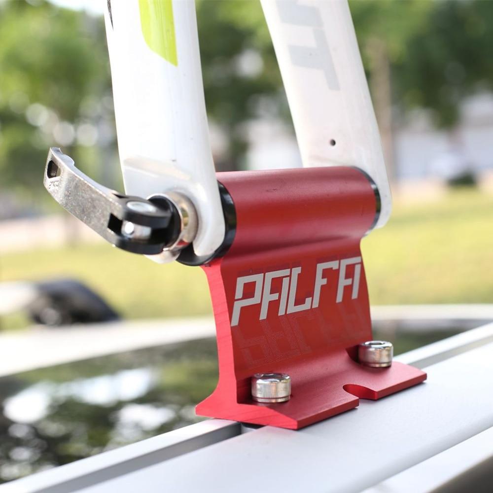 MTB Bicycle Rack Bike Car Racks Carrier Quick Installation Alloy Fork Car Bike Block Alloy Mount