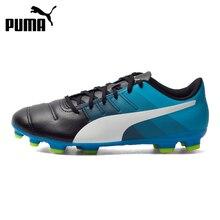Original PUMA Evopower AG Men's Soccer Shoes Football Sneakers цена