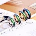 Senhor dos anéis de mudança de Temperatura de cor Anel de Humor anéis para as mulheres
