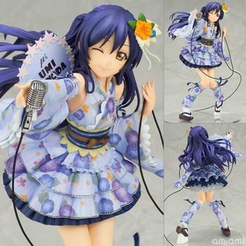 Tv LOVE LIVE Sonoda Umi Cute Kimono Girl Japan Anime Cartoon Action Figure PVC Toys Collection Figures For Friends Gifts