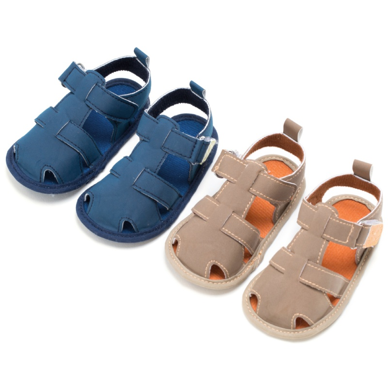 Newborn Baby Toddler Boy Hook Hollow Out Infant Shoes Summer First Walkers 6M-12M 07