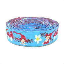 Zakka handmade accessories laciness ribbon Jacquard Ribbon with ittle red riding hood  5/816MM 10yards/lot