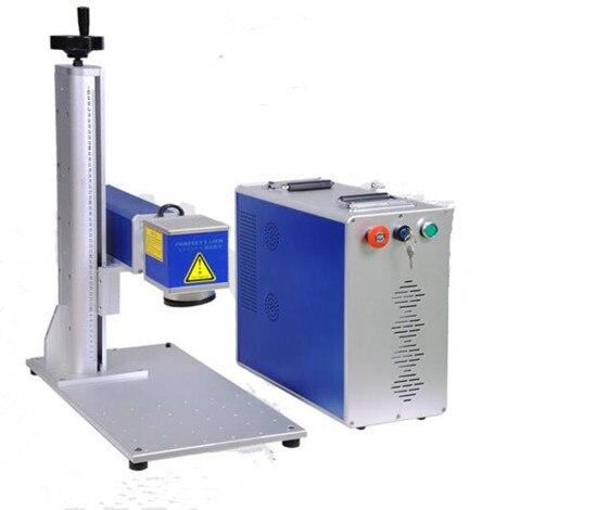 Machine de marquage laser fibre Max/Raycus/IPG/MOPA 20 W 30 W pour métal, montres, caméra, pièces automobiles, boucles