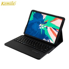 For New iPad Pro 11 inch 2018 Case Keyboard,Kemile Smart Stand W Bluetooth Keyboard Cover A1890 Keypad