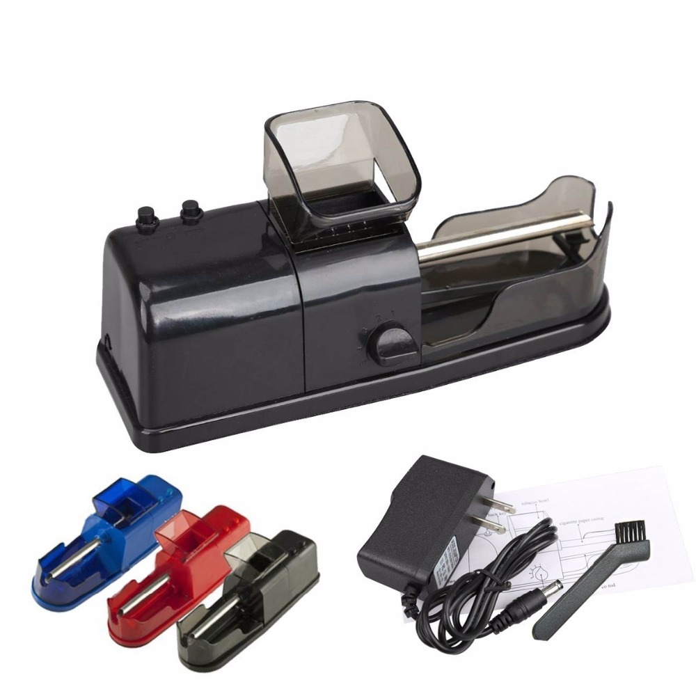 1pc Portable Electric Cigarette Rolling Machine Automatic Injector DIY Maker