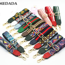 MEDADA  Fashion Colorful ShoulderStrap Nylon Belt Bags Strap Accessories For Women Messenger Crossbody