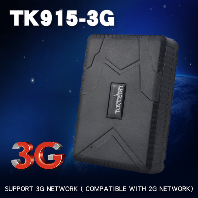 3G TK915-3G Forte Ímã Rastreador GPS Do Carro Do Veículo Rastreador GPS Localizador 12-24V 7800mAh Bateria À Prova D' Água 80Day Espera APLICATIVO Gratuito