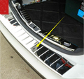 Rear Tail Door Outer Bumper Protector Cover Stainless Steel For Ford Mondeo Fusion 2013 2014 2015