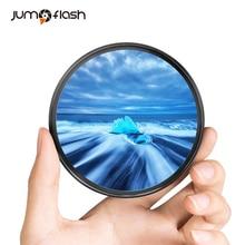 Jumpflashカメラuvフィルター49ミリメートル52ミリメートル55ミリメートル58ミリメートル62ミリメートル67ミリメートル72ミリメートル77ミリメートルニコン用、キヤノン用カメラレンズ