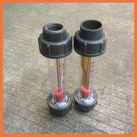 LZS-32 (0.6-6m3/h tubo Corto) Pipeline caudalímetro rotámetro agua Herramientas de Medición Instrumentos de Medición Medidores de Flujo LZS32 PVC