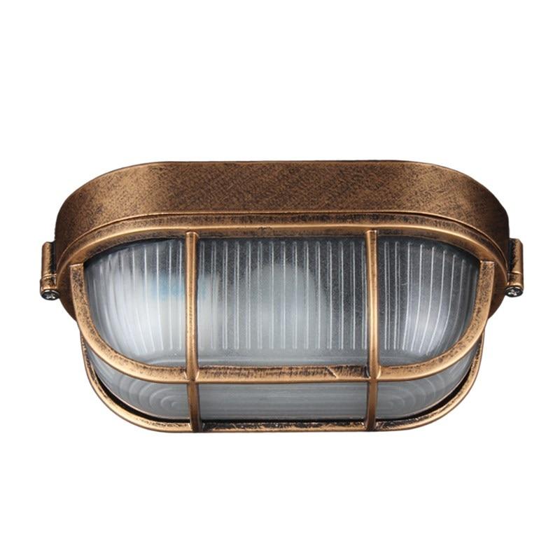 IWHD Retro Do Vintage CONDUZIU a Luz de Teto Luminárias Plafondlamp Cozinha Varanda Corredor Lâmpada Do Teto Luminaria De Teto À Prova D' Água