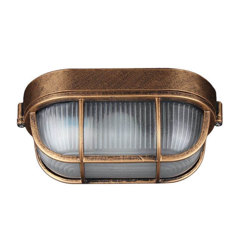 IWHD Retro Vintage LED Ceiling Light Fixtures Waterproof Kitchen Hallway Balcony Plafondlamp Ceiling Lamp Luminaria De Teto